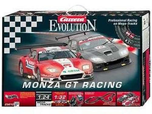 sets carrera evolution monza gt racing was sold for r480. Black Bedroom Furniture Sets. Home Design Ideas