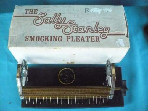 THE SALLY STANLEY SMOCKING PLEATER