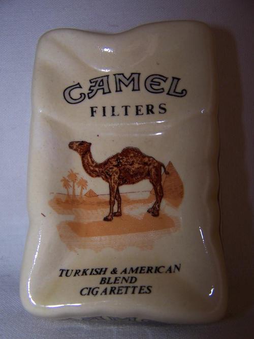 Advertising - Vintage Camel Filters Advertising Ashtray ...
