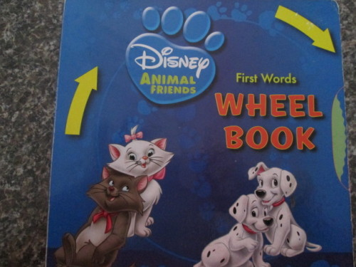 Other Childrens Baby Books DISNEY FIRST WORDS WHEEL BOOK