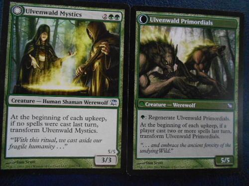 trading cards magic the gathering ulvenwald mystics uncommin