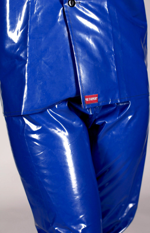 Other Clothing Shoes Amp Accessories Shiny Blue Pvc