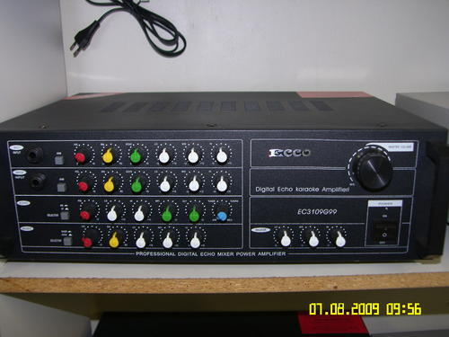 amplifiers processors ecco professional digital echo mixer amplifier was sold for on. Black Bedroom Furniture Sets. Home Design Ideas