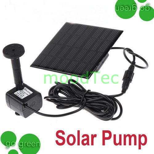 Pumps filters new 10v solar power water pump garden for Water garden pumps and filters