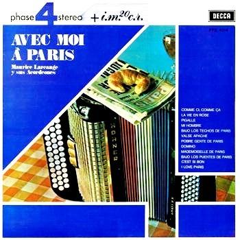 Maurice Larcange Paris Accordions