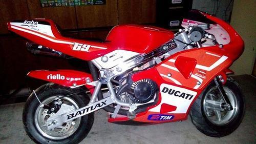 Mini Bike Ducati : Pocket bikes mini motos bike nicky hayden