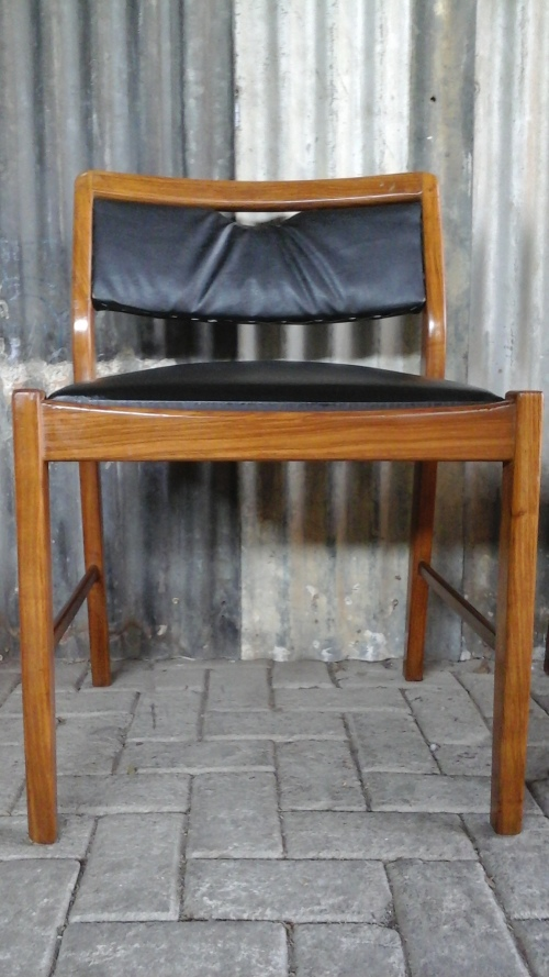 Other Antiques Collectables Six Magnificent Vintage Kiaat Dining Room Chairs Stunning