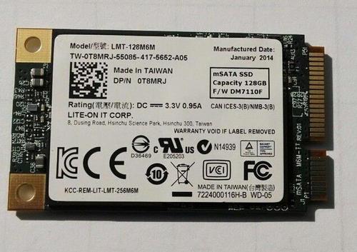 Liteon LMT-128M6M mSATA Solid State Drive 128GB (SSD)