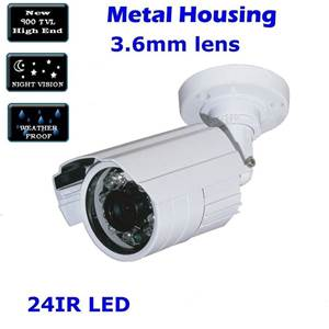 item  TVL Waterproof mm Surveillance Security Colour CCTV Day Night LED IR Camera