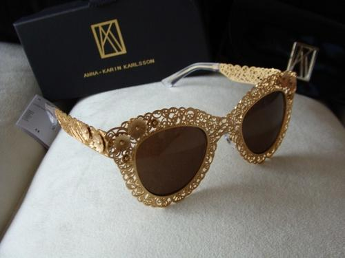 ea51f11e6bb3 Sunglasses - Brand new Dolce & Gabbana models carved openwork lace laser  sunglasses metal frame. was sold for R1,399.00 on 3 Aug at 21:17 by Smadrem  designs ...
