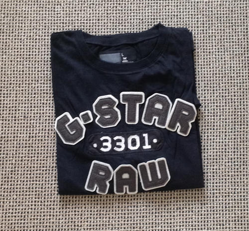 7a849089d5 Brand new G STAR raw denim 3301 men s slim fit short-sleeve T shirt.