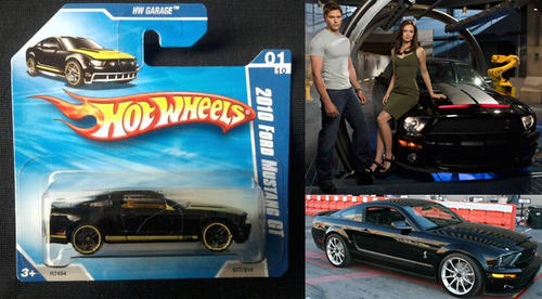 Models Hotwheels Knight Rider Mustang Gt500 From New Tv