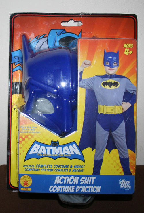 BATMAN Brave u0026 Bold Mask u0026 suit ultimate Kids dress up outfit from Rubies Costumes & Dress-ups - BATMAN Brave u0026 Bold Mask u0026 suit ultimate Kids dress up ...