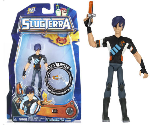 Other Action Figures - New SLUGTERRA ELI 4-inch Action ...