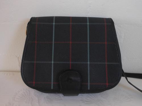 Handbags   Bags -  BURBERRY S  DESIGNER VINTAGE PLAID CHECK NAVY BLUE VINYL  SLING MESSENGER BAG HANDBAG was listed for R599.00 on 14 Dec at 22 04 by  Lehza ... 7669591a45b45