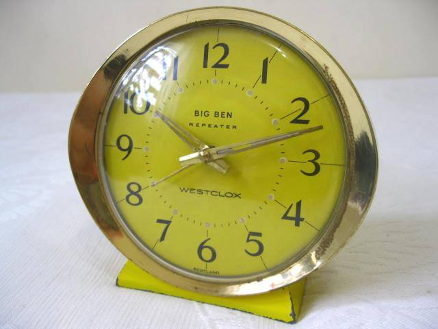 Alarm Amp Travel Clocks Vintage Retro Original Westclox