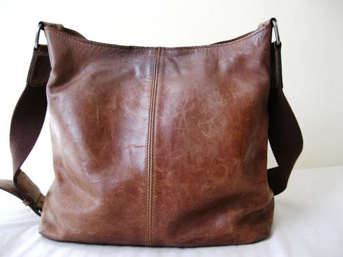 Handbags Bags Genuine Leather Brown Woolworths Large Bucket Tote Handbag Was Sold For R397 00 On 15 May At 18 19 By Lehza Vintage In Cape Town