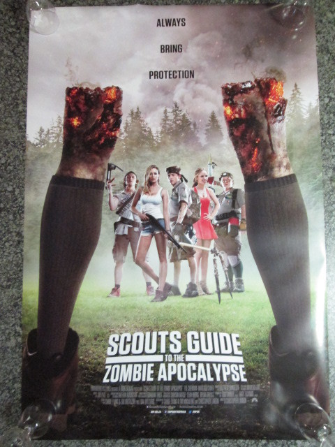 Scouts Guide to the Zombie Apocalypse 2015 Movie Posters