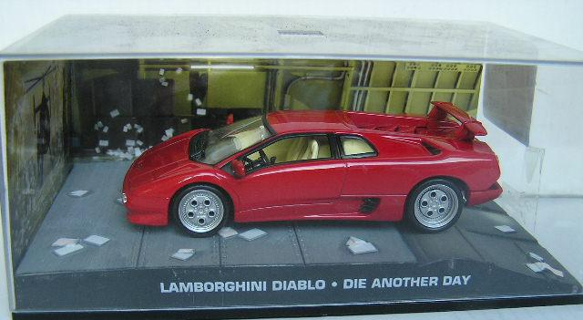 models james bond diecast model car collection lamborghini diablo movie fil. Black Bedroom Furniture Sets. Home Design Ideas