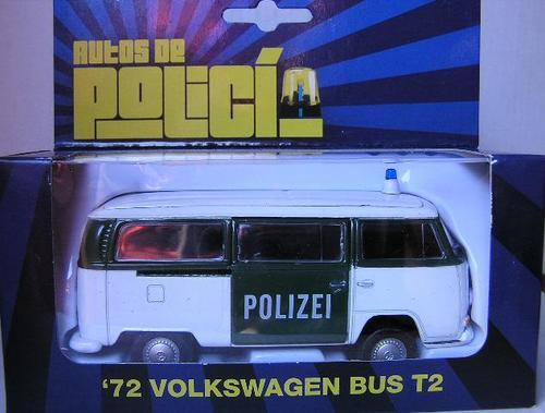 polizei vw bus