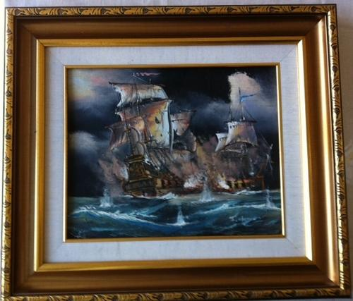 Other original international art j harvey painting on for Harvey s paint and body