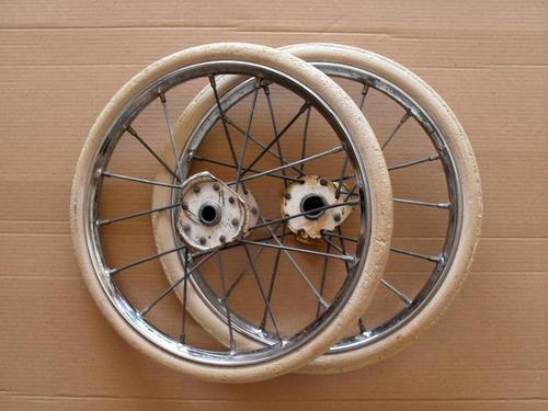 Vintage Toys Vintage Spoked Pram Wheels Free Postage