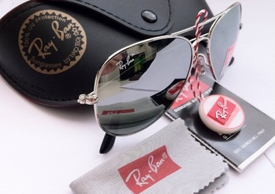 ray ban aviator silver  ray ban aviators silver mirrored lens