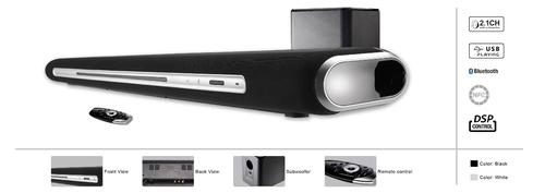 Acoustic Research 2 1 Channel Soundbar With Subwoofer Ar 2000