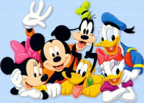 Machine embroidery 580 mickey minnie donald duck - Minnie et daisy ...