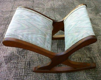 Swell Vintage Rocking Foot Stool Alphanode Cool Chair Designs And Ideas Alphanodeonline