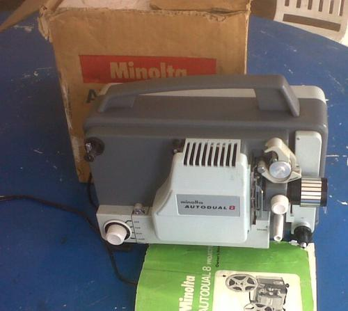projectors vintage minolta autodual 8mm projector needs service rh bidorbuy co za Grey Projector Screen 16 9 Optical Projector
