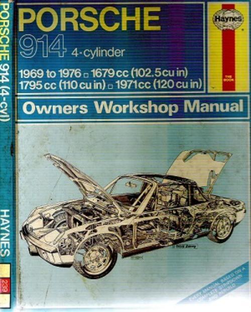 Cars porsche 914 4 cylinder owners workshop manual by j h porsche 914 4 cylinder owners workshop manual by j h haynes fandeluxe Gallery