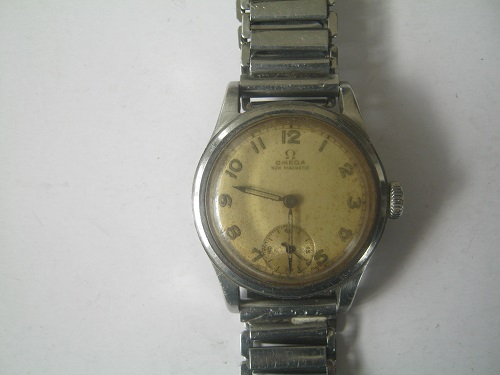 Rare collectible watches omega non magnetic metal 1930 40 39 s watch manual wind working was for Magnetic watches