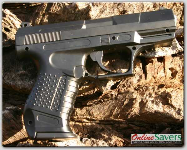 Walther P99 - Spring - BB Metal Pistol!! Shoots BB!! Paint Ball!! Metal  Ball!! Included Gun CD!!