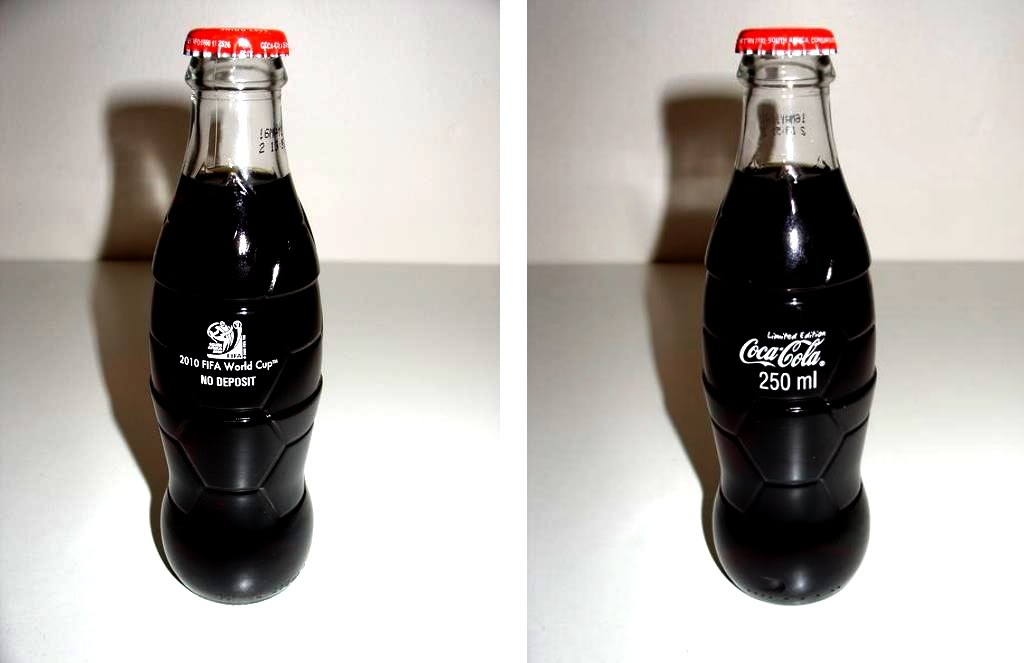 Advertising world cup 2010 limited edition coca cola bottle south africa w - Coca cola edition limitee ...