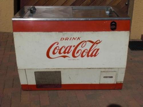 Coca Cola Fridge >> Bar Accessories - Coca Cola Chest Fridge !!!! Coke ...