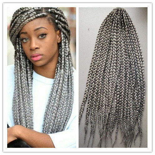 Hair Extensions & Weaves - Pre-braided crochet box braids was listed ...