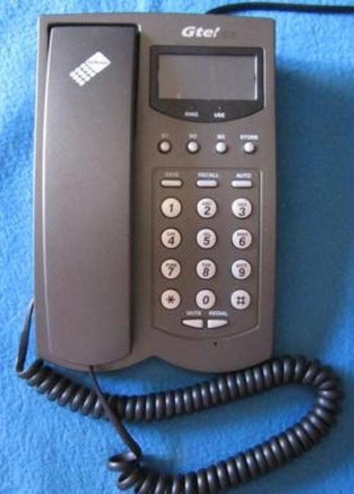 Telephones Telkom Gtel 100 And Gtel 200 Corded Telephone