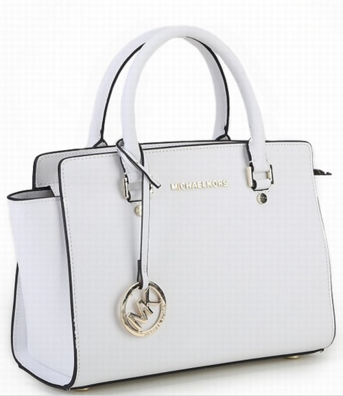 31f0c95f8691 Handbags   Bags - MK genuine leather lady bag. Medium size. white ...
