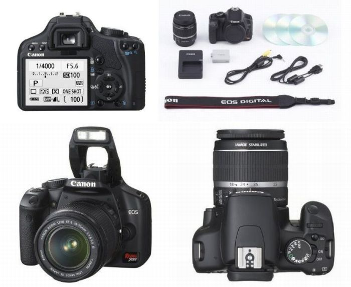 Canon XSi 450D 18-55mm iS - Free delivery - Magic Lantern® DVD Guide: Canon  XSi 450D