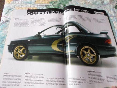 magazines practical performance car october 2004 ford escort subaru w. Black Bedroom Furniture Sets. Home Design Ideas