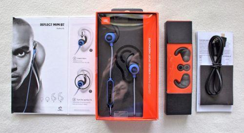 Jbl reflect mini bluetooth headphones - black