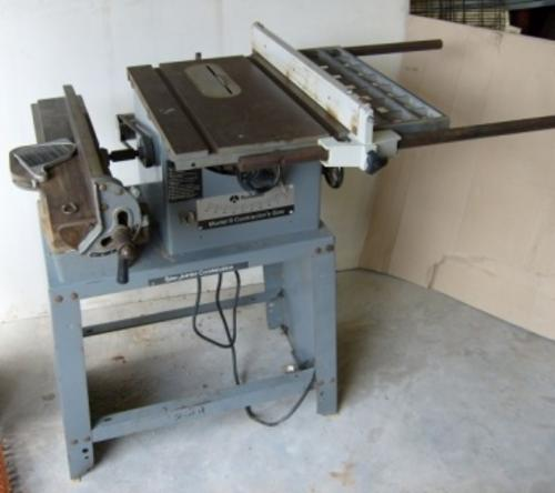 """Junk Cars Parts: Rockwell Delta Combo 9"""" Saw And 4"""" Jointer"""