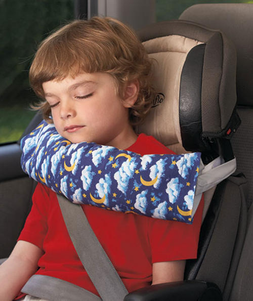 rest n ride travel pillow is a smart solution that helps kids of all ages sleep safely and comfortably on long trips in the car or on an