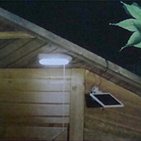 Light for shed without electricity