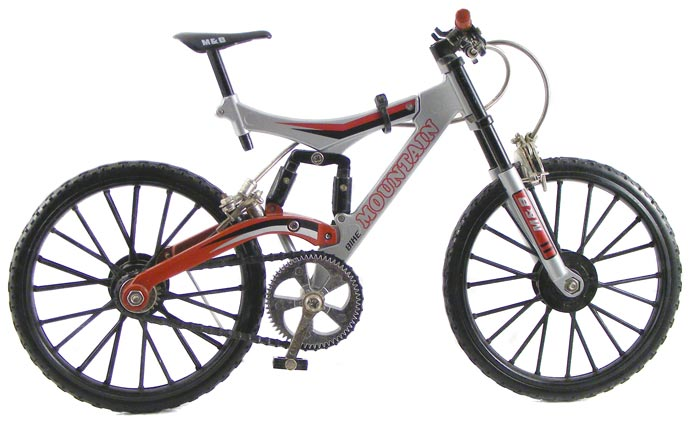 Other Models Collectable Scale Model Full Suspension Mountain Bike
