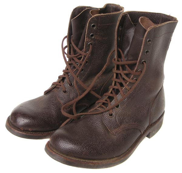 Other Clothing   Equipment - 1987 Vintage Genuine Leather Brown Army Combat  boots size 8 - Excellent condition - SA Defence Force was sold for R350.00  on 14 ... 9c15f569c82