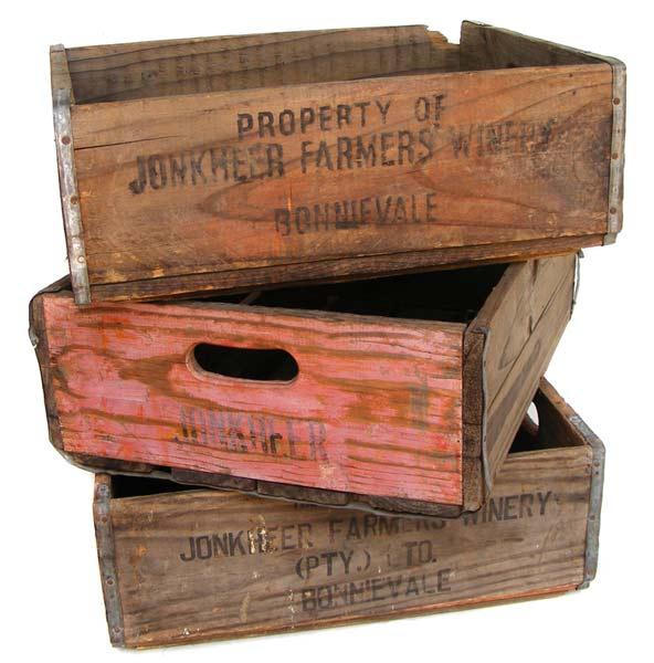 Wine Crates Part - 45: Old Jonkheer Wine Crates - Great Vintage Decor Item - Last 2 Left