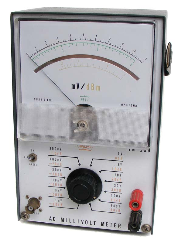 Test equipment vintage belco japanese ac millivolt meter vintage belco japanese ac millivolt meter excellent and 100 working condition fandeluxe Image collections
