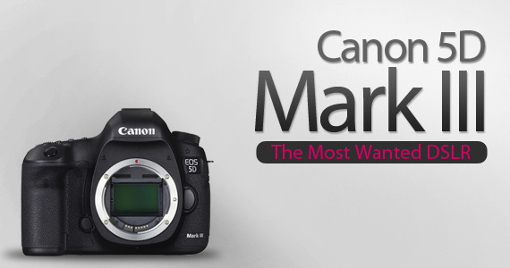 Digital SLR - Canon EOS 5D Mark iii 22.3 MP Full Frame CMOS Digital ...